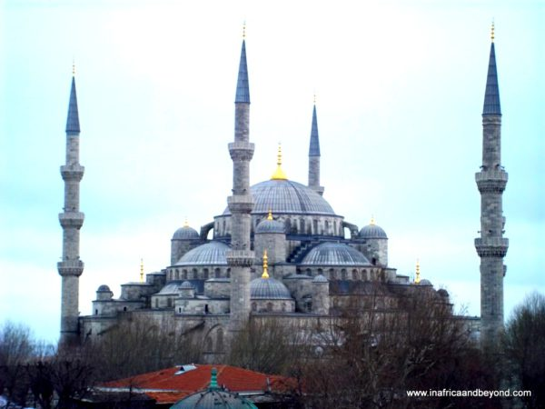 Blue Mosque Istanbul - wanderlust tag