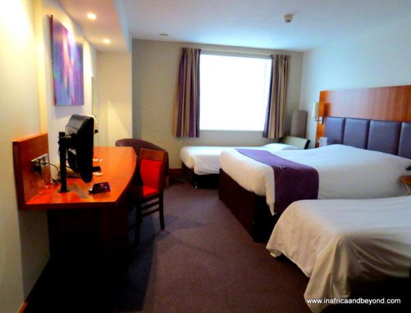 London accommodation premier inn wembley in africa and for Premier inn family room