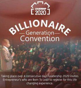 Billionaire Generation Convention