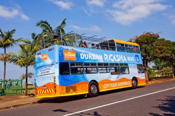 Ricksha Bus Things to do in Durban