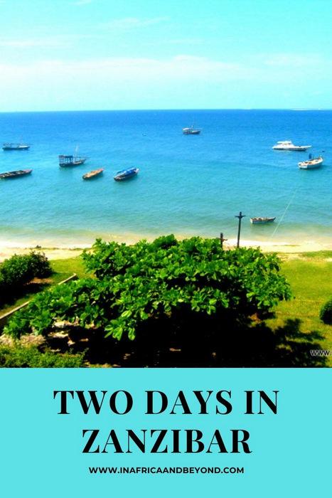Two days in Zanzibar...Hakuna Matata! 1