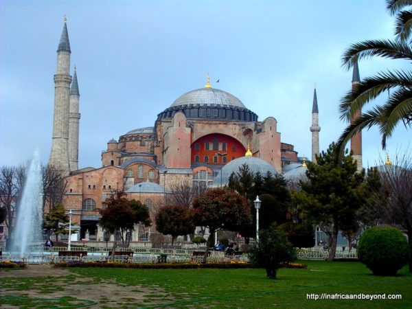 Things to do in Istanbul Hagia Sofia