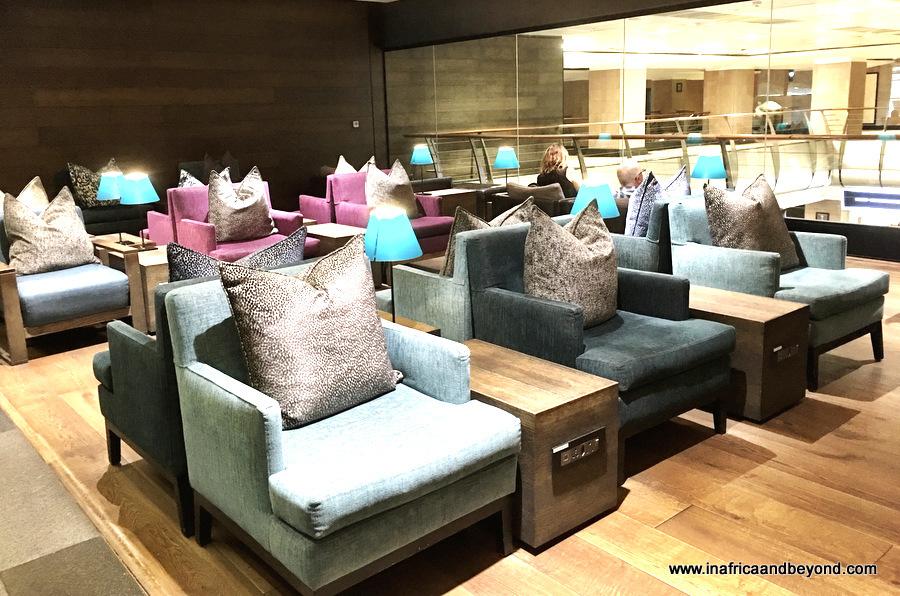 OR Tambo International Airport lounge