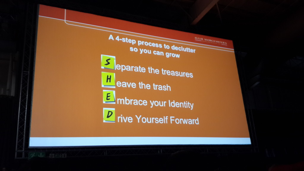 One of the inspirational slides