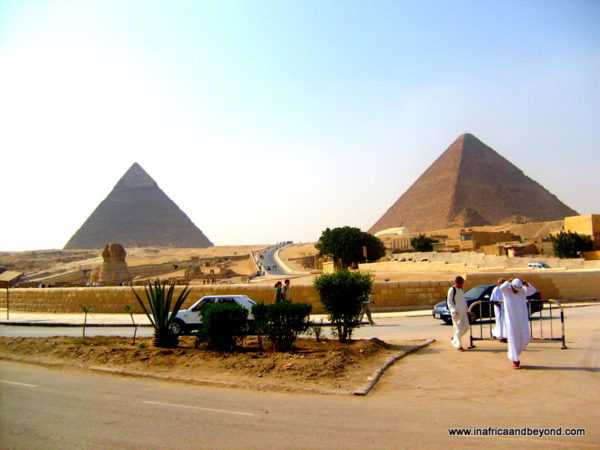 Pyramids of Giza Reverse Bucket List
