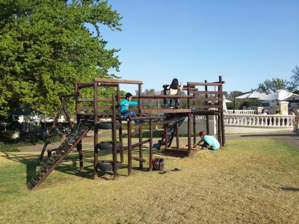 Kids at play Riviera On Vaal