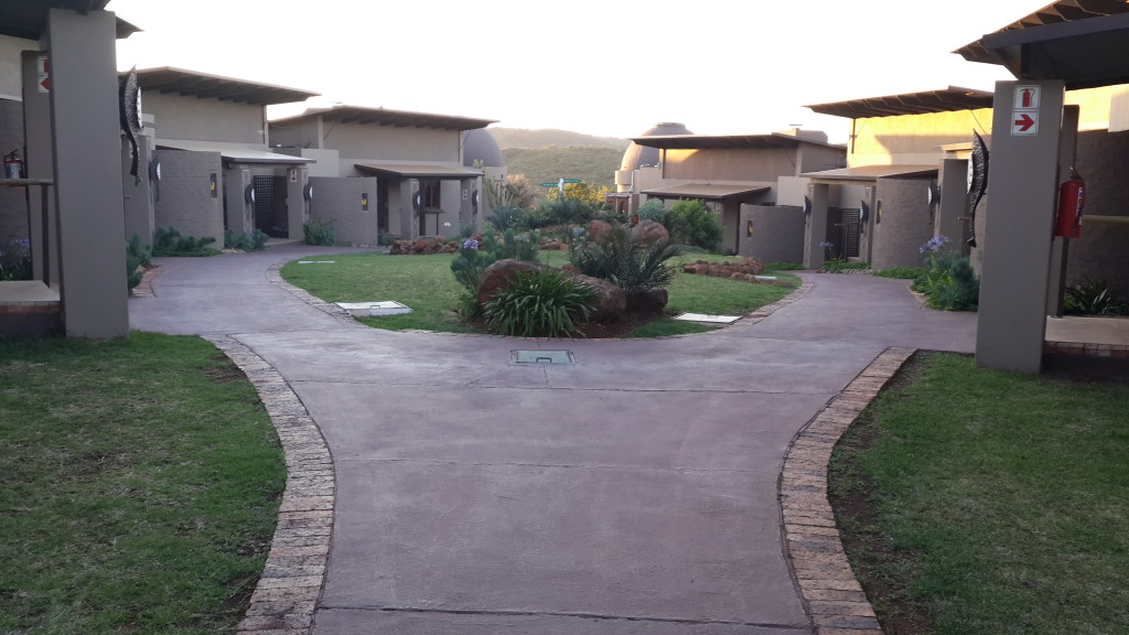 Thaba Ya Batswana Rooms - Back