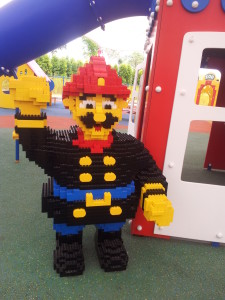 One of the friendly policemen on duty - Legoland