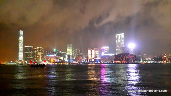Hong Kong Sound and light show