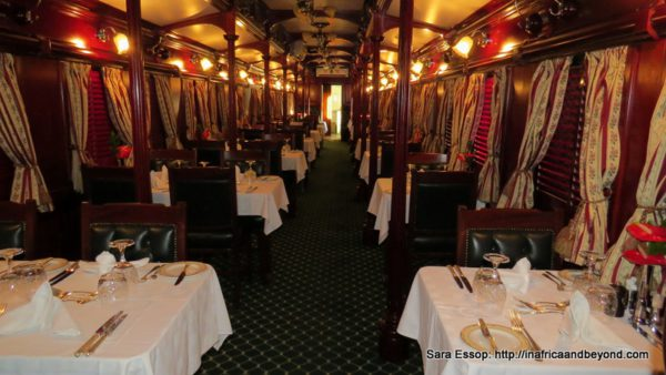 Dining Car By Night