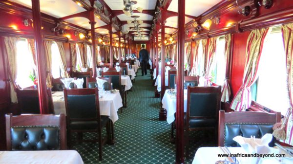 Dining Car Rovos Rail