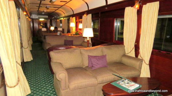 Lounge Car Rovos Rail