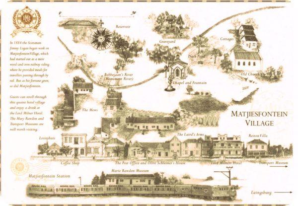 Matjiesfontein map
