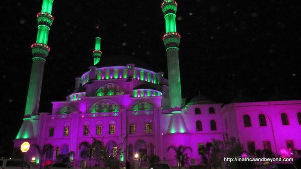 Nizamiye at night