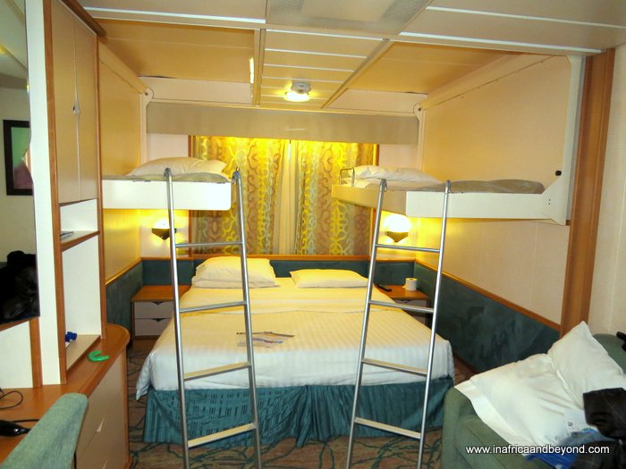 Splendour of the Seas bedroom