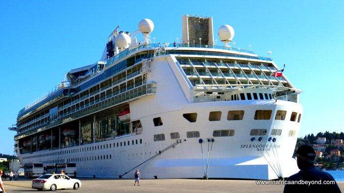 The magic of cruising - Splendour of the Seas