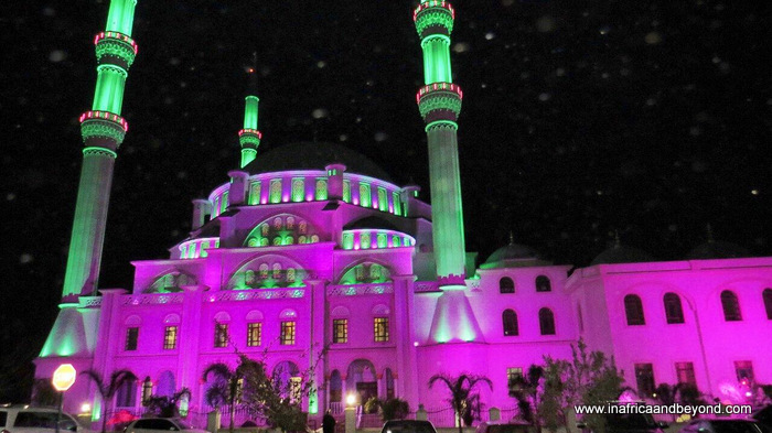 Nizamiye at night