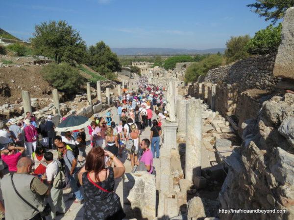 Crowds at Ephesus