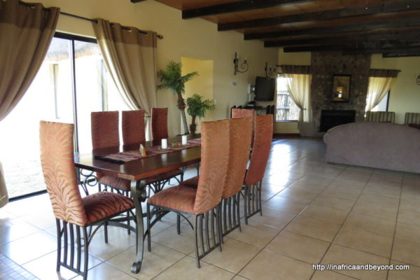 Dining area - African Dream House