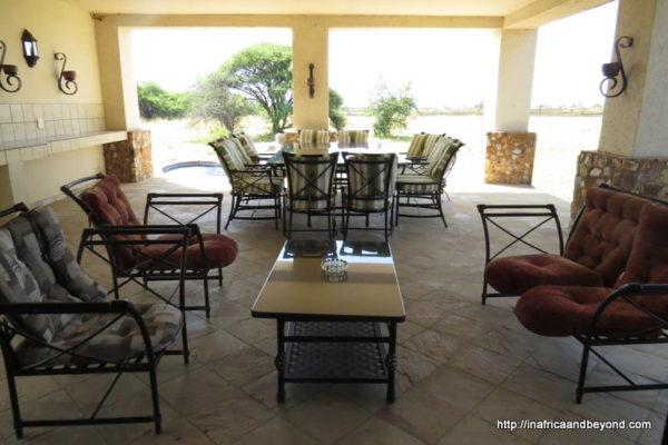 Patio - African Dream House Zebula