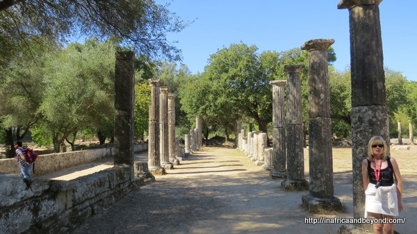 Palaestra at Olympia - Ancient Olympics