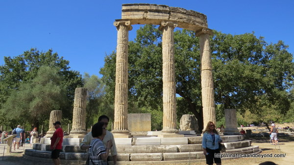 Ruins of the Philippeion - Olympia Ancient Olympics