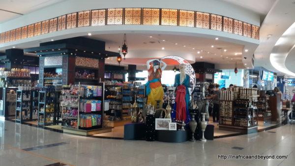Dubai airport shopping Emirates