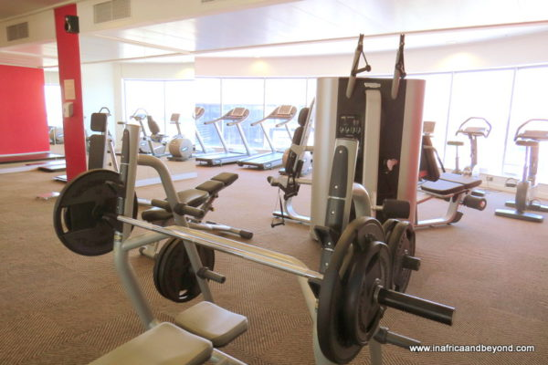 Radisson Blu Gautrain gym