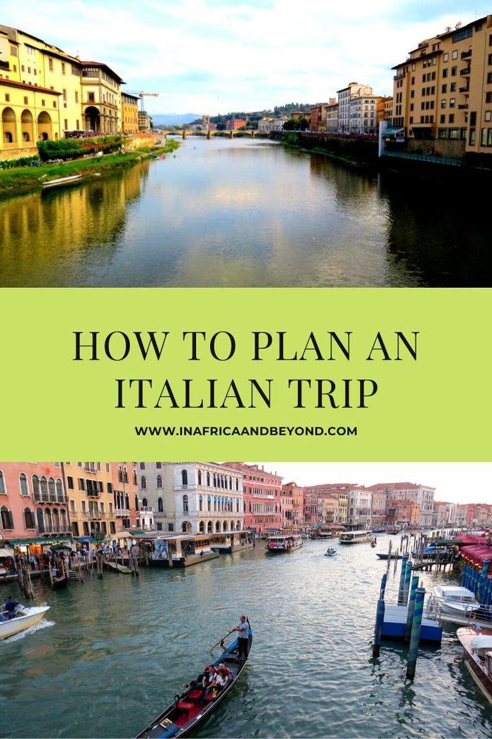 How to plan an Italian trip