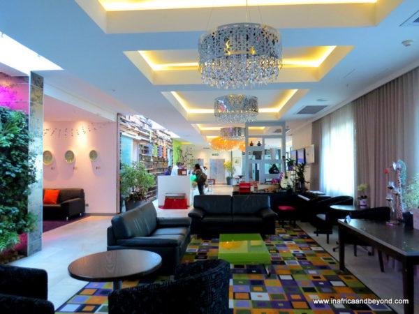Hotel Verde lobby