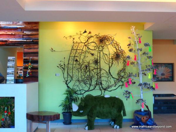 Hotel Verde Mascot - The Rhino