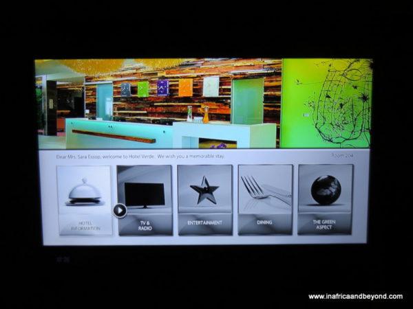 Interactive TV - Hotel Verde
