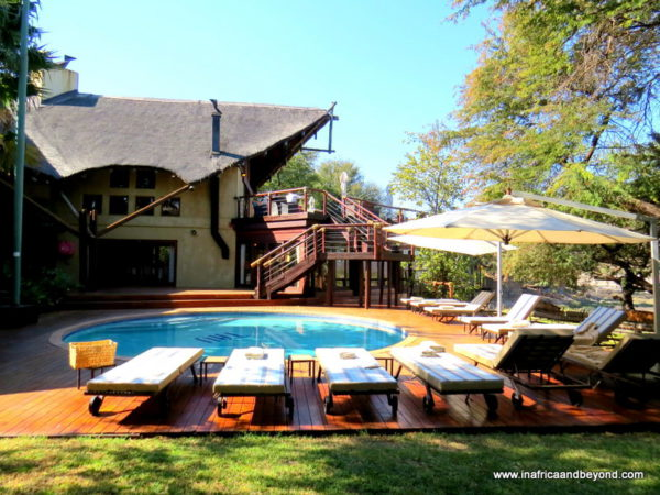 Swimming pool Tau Game Lodge