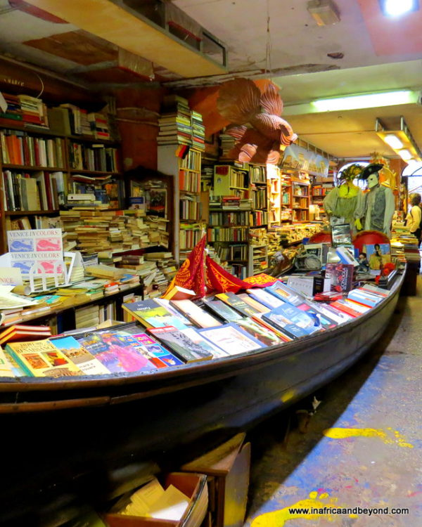 Things to do in Venice Italy - Libreria Acqua Alta