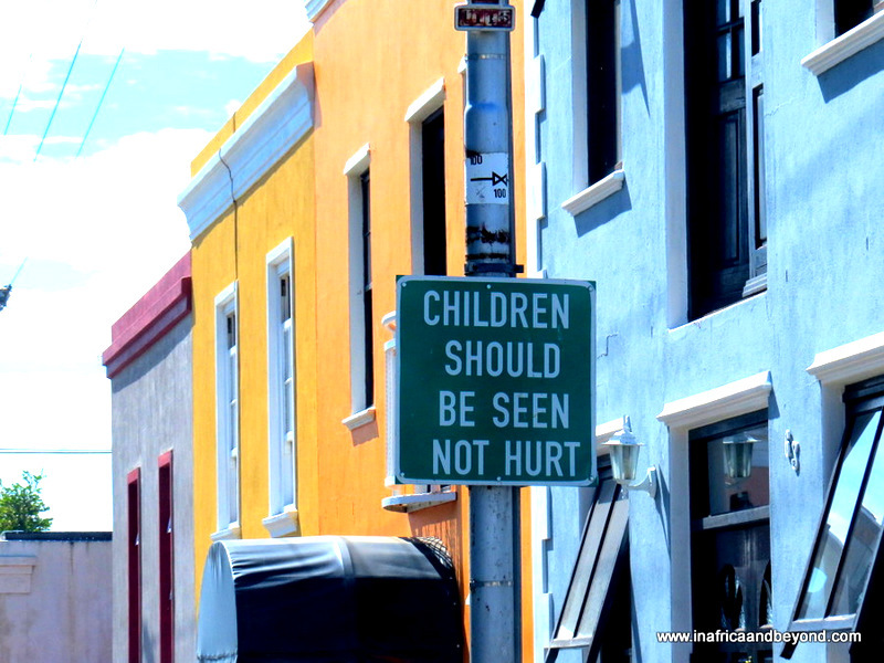 About the Bo Kaap , Cape Town