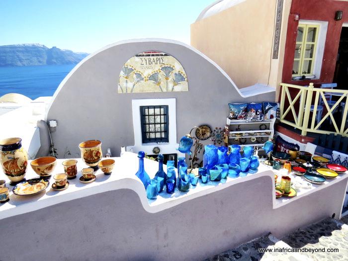 Santorini and Fira