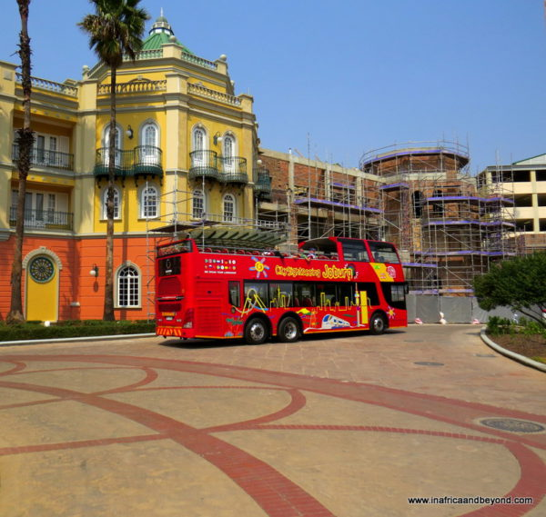 City Sightseeing Joburg Bus
