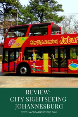 City Sightseeing Johannesburg