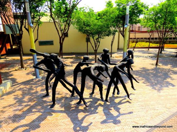 Sculptures at ConstitutionHill