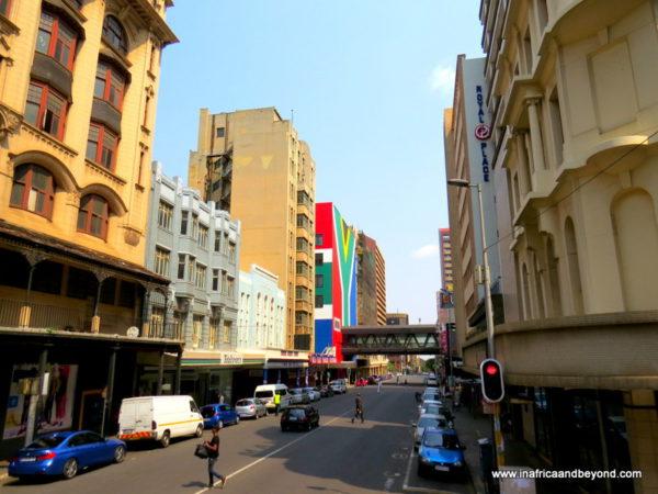 Joburg Inner City Streets