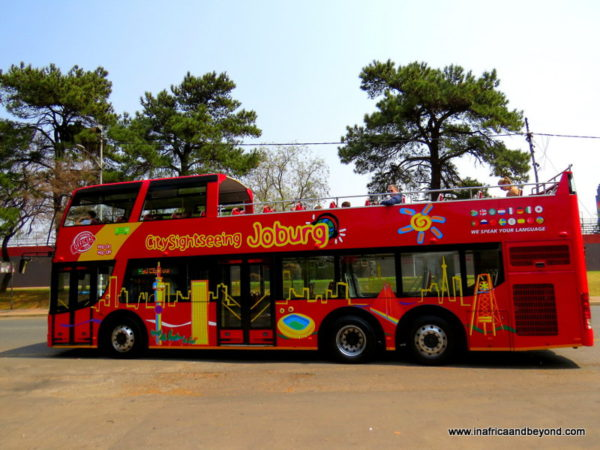 Joburg City SightSeeing Bus