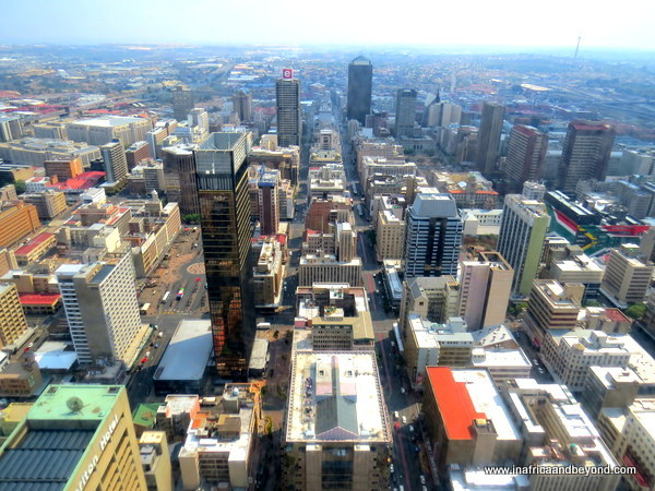 Joburg from the Top of Africa