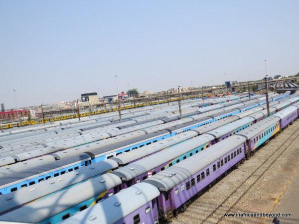 Trains at Park Station
