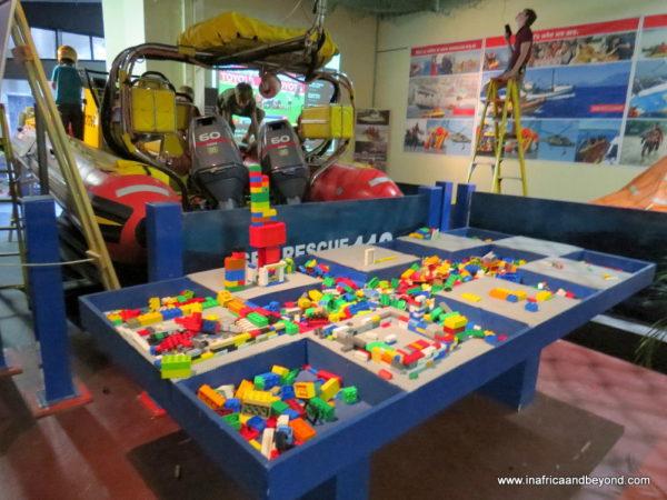Kiddies zone Titanic Exhibition