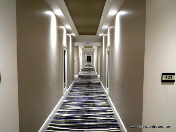 Revamped Corridors at Riverside Sun Resort