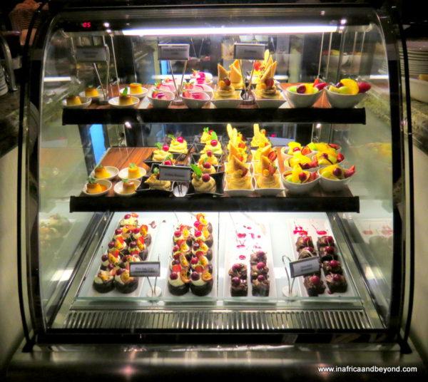 Desserts at the Riverside Sun Resort