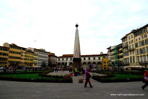 the best city in the world - Piazza di Santa Maria Novella