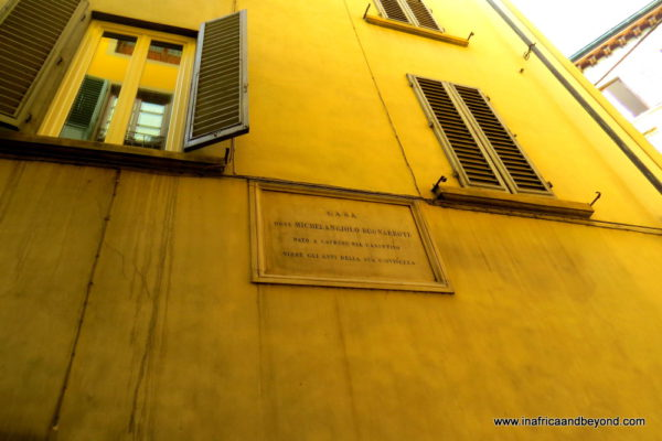 the best city in the world - Michaelangelo lived here