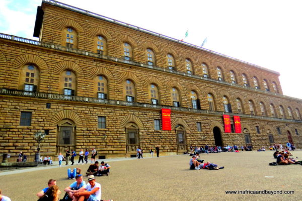 the best city in the world - Palazzo Pitti - one of the palaces where the Medicis lived
