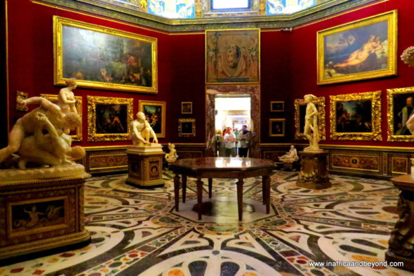 the best city in the world - Uffizi Gallery